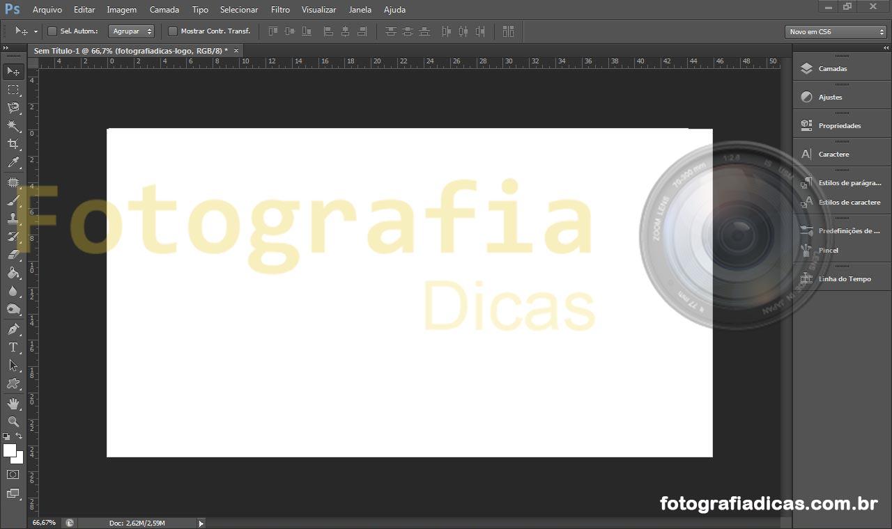 Photoshop - Arrumar Fotografias | Fotografia Dicas
