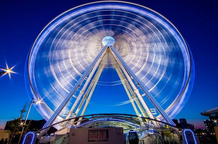 Dicas de fotografia - Roda Gigante