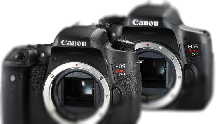 Canon T6s e Canon T6i - Fotografia Dicas