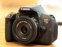 Canon t4i com lente STM 40mm - fotografia dicas