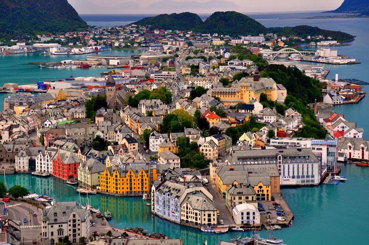 Alesund, Noruega.