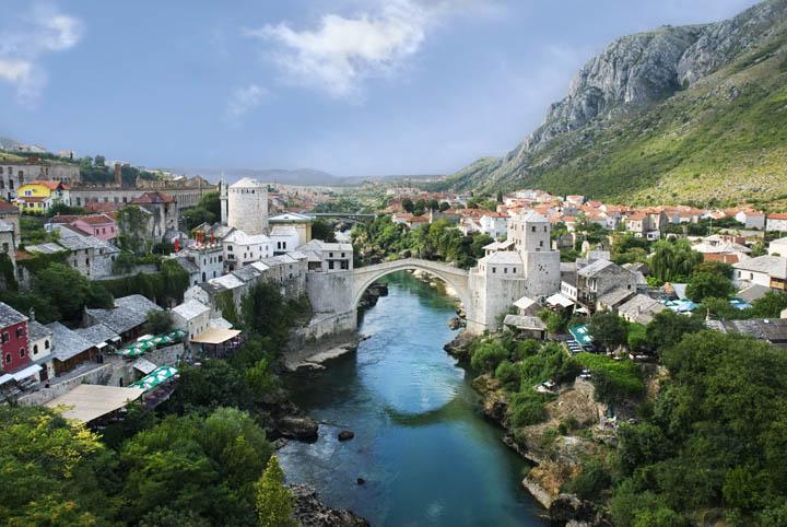 Mostar, Bósnia