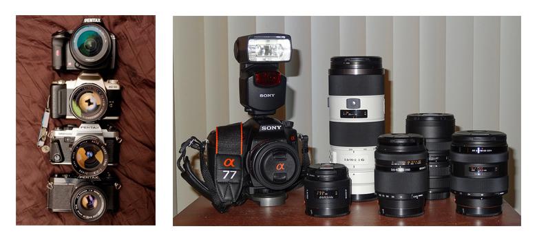 Pentax e Sony - DSLR - Fotografia Dicas 2 2cb0ffac9a