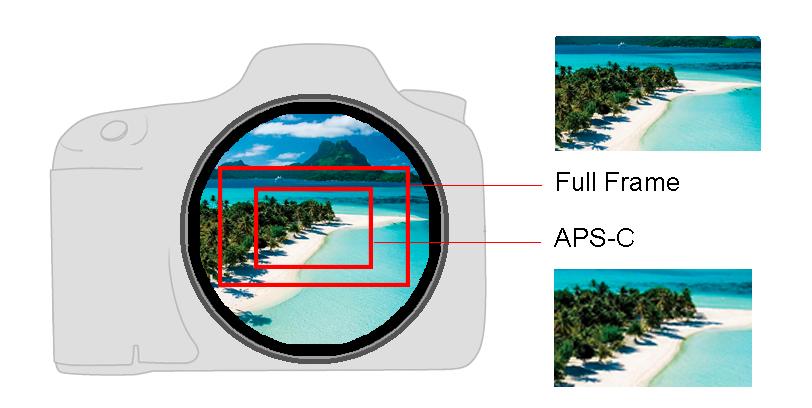 fator de corte - camera - Fotografia dicas