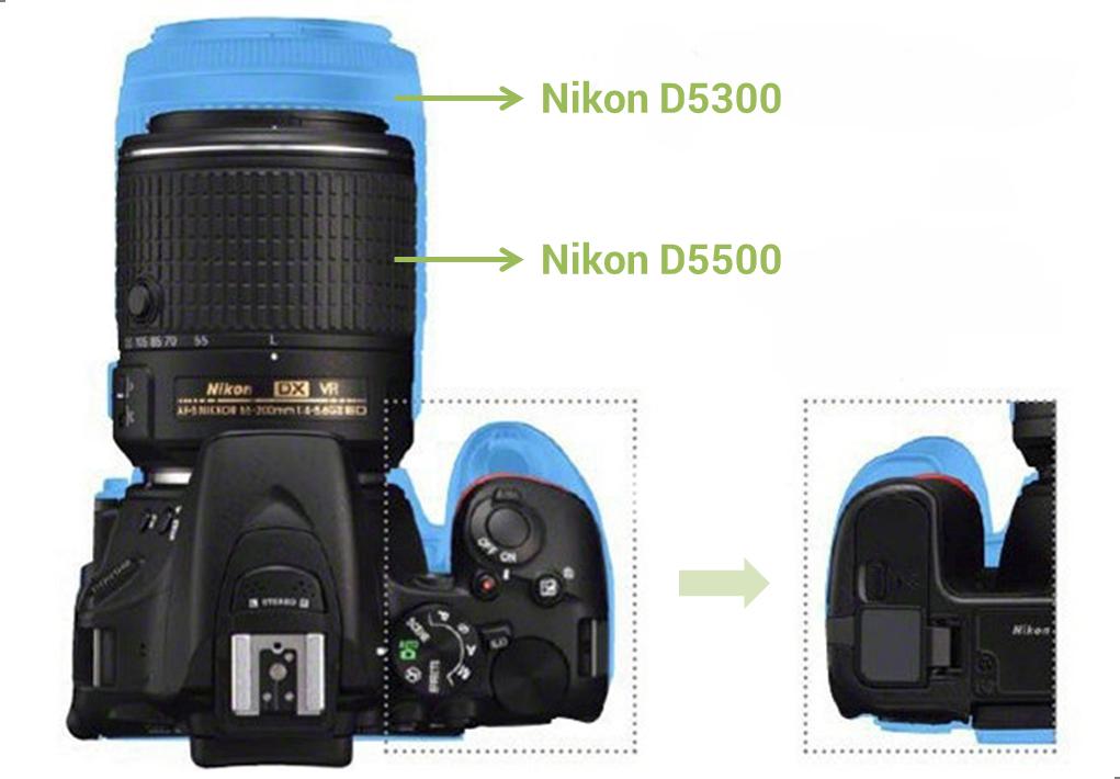 Nikon-D5500-vs-D5300